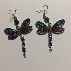 New Dragonfly earrings